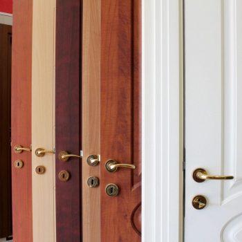 assortetd door finishes