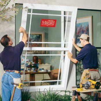 guys replacing milgard window