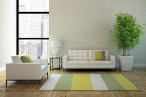 neatly arranged furniture