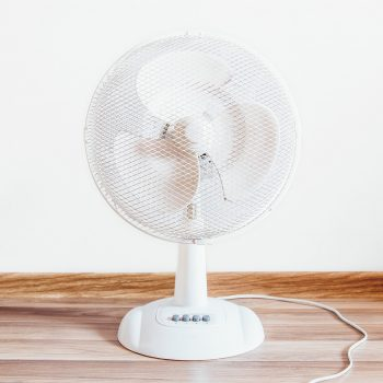 fan on table