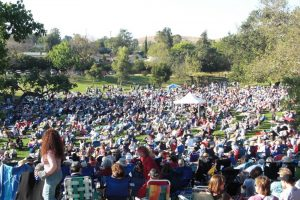 jazz festival crowd