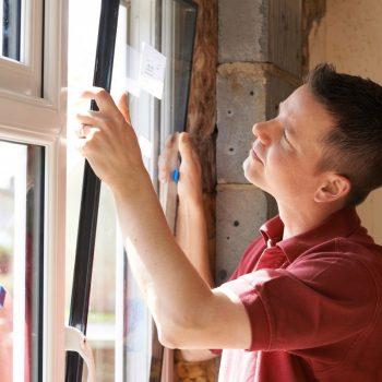 guy installing new window