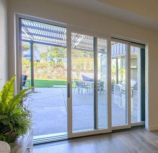 multi slide patio door