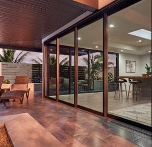 pocket sliding patio door