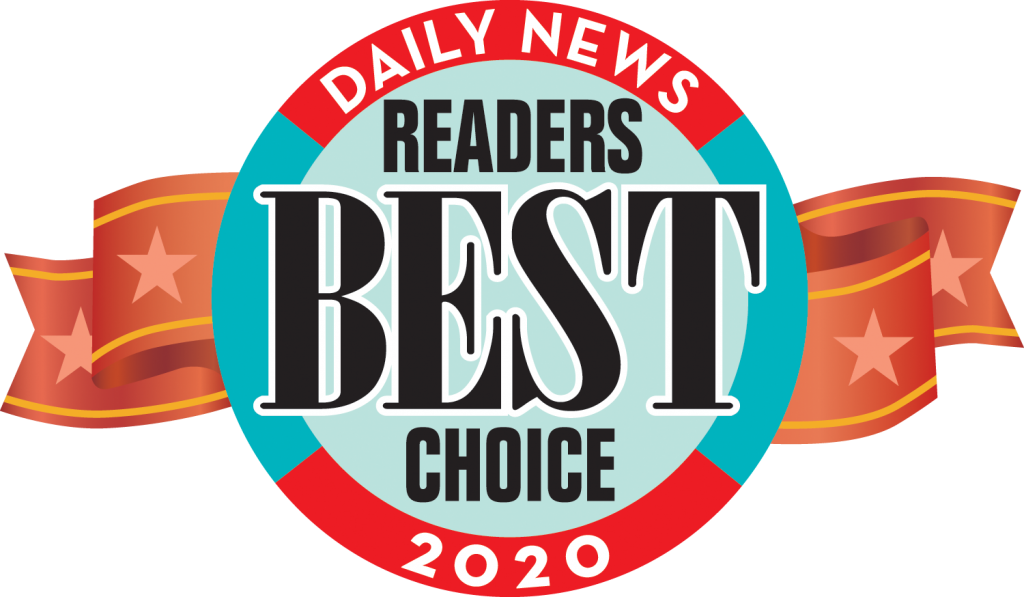 daily news 2020 readers choice award